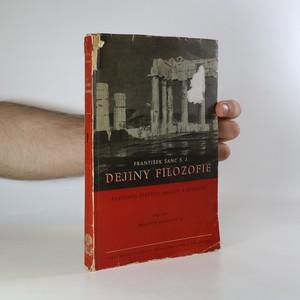 náhled knihy - Dejiny filozofie. Filozofia starých Grékov a Rimanov