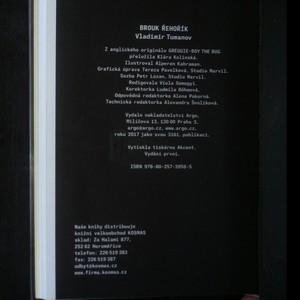 antikvární kniha Brouk Řehořík, 2017
