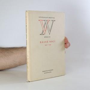 náhled knihy - Básně noci 1921-1929