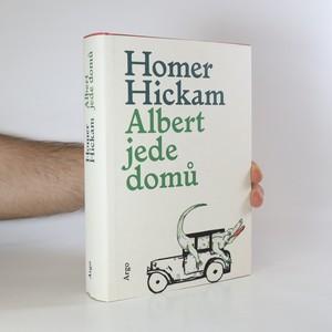 náhled knihy - Albert jede domů. Víceméně pravdivý příběh o muži, jeho manželce a jejím aligátorovi