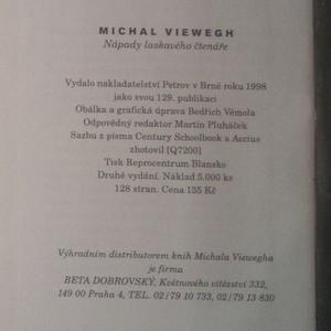antikvární kniha Nápady laskavého čtenáře, 1998
