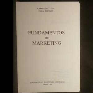 antikvární kniha Fundamentos de marketing, 1996