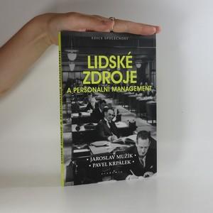 náhled knihy - Lidské zdroje a personální management
