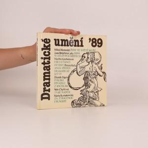 náhled knihy - Dramatické umění '89