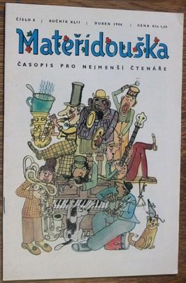 náhled knihy - Mateřídouška číslo 8 , ročník XLII