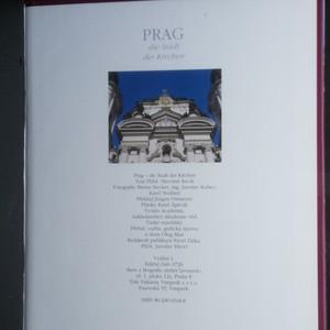 antikvární kniha Prag. Die Stadt der Kirchen, 1995
