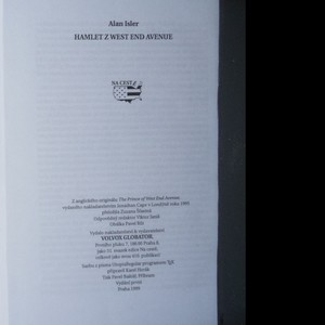 antikvární kniha Hamlet z West End Avenue, 1999
