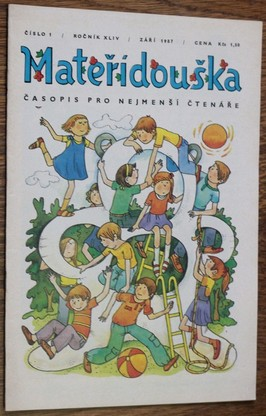 náhled knihy - Mateřídouška číslo 1 , ročník XLIV