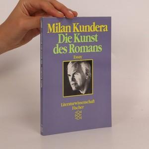 náhled knihy - Die Kunst des Romans. Essay