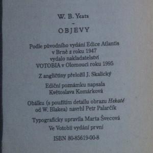 antikvární kniha Objevy, 1995