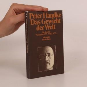náhled knihy - Das Gewicht der Welt