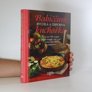 náhled knihy - Babiččina rychlá a úsporná kuchařka