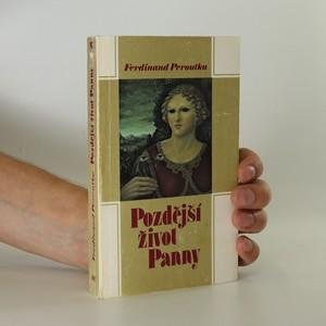 náhled knihy - Pozdější život Panny