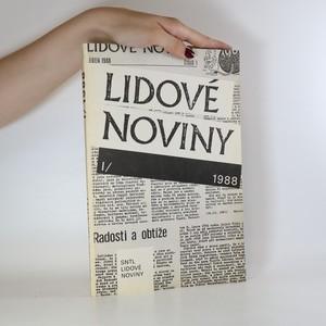 náhled knihy - Lidové noviny 1988 (1. díl)