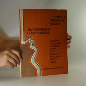 náhled knihy - Európska gitarová hudba