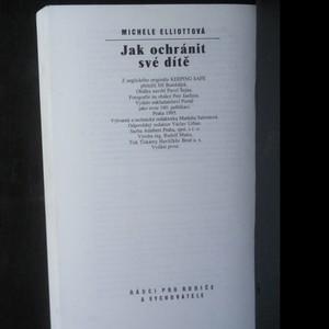 antikvární kniha Jak ochránit své dítě, 1995