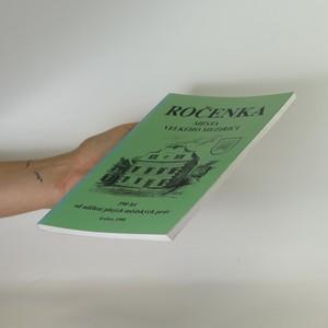 antikvární kniha Ročenka města Velkého Meziříčí, 1998