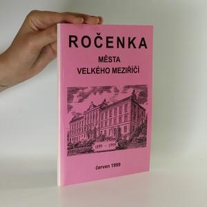 náhled knihy - Ročenka města Velkého Meziříčí