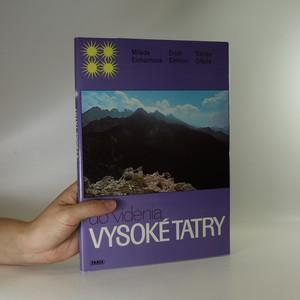 náhled knihy - Do videnia, Vysoké Tatry