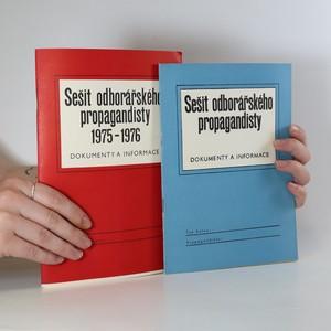 náhled knihy - Sešit odborářského propagandisty. Dokumenty a informace