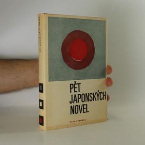 náhled knihy - Pět japonských novel