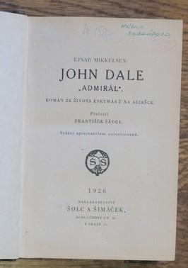 náhled knihy - John Dale