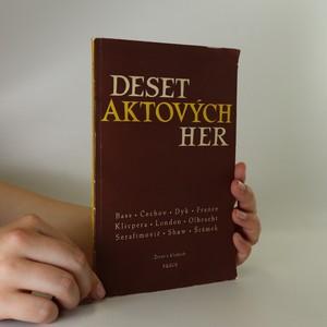 náhled knihy - Deset aktových her