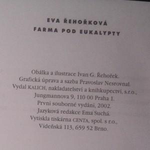 antikvární kniha Farma pod eukalypty, 2002