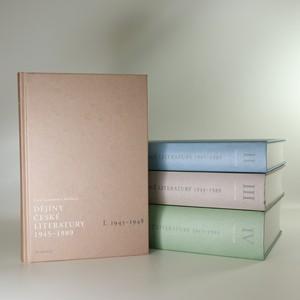 náhled knihy - Dějiny české literatury 1945-1989 (4 svazky, komplet, CD příloha u všech svazků)
