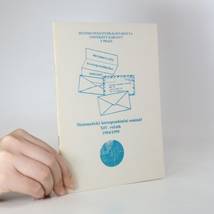 náhled knihy - Matematický korespondenční seminář. 14. ročník, 1994/1995