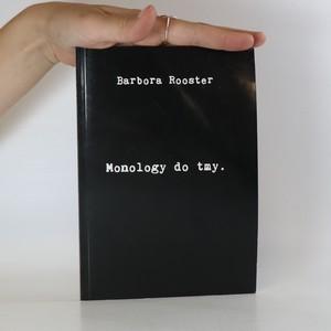 náhled knihy - Monology do tmy