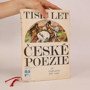 náhled knihy - Tisíc let české poezie II. díl