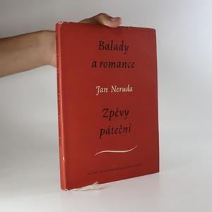 náhled knihy - Balady a romance. Zpěvy páteční.