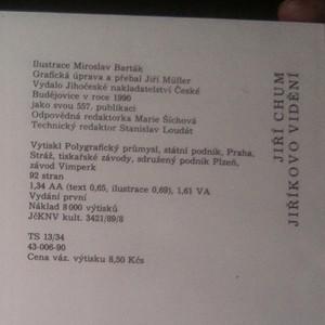 antikvární kniha Jiříkovo vidění, 1990
