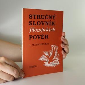 náhled knihy - Stručný slovník filozofických pověr