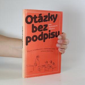 náhled knihy - Otázky bez podpisu