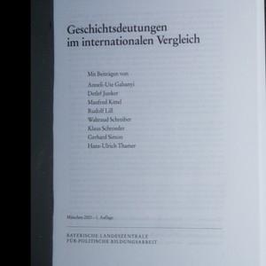 antikvární kniha Geschichtsdeutungen im internationalen Vergleich, 2003