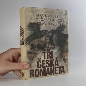 náhled knihy - Tři česká romaneta