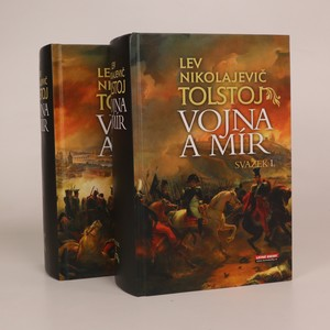 náhled knihy - Vojna a mír (4 díly ve 2 svazcích, komplet)