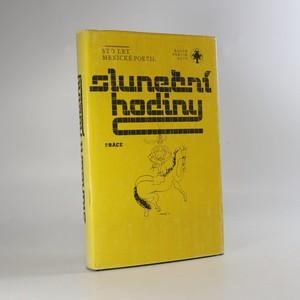 náhled knihy - Sluneční hodiny. Sto let mexické poezie