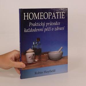 náhled knihy - Homeopatie. Praktický průvodce každodenní péčí o zdraví