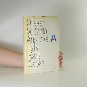 náhled knihy - Anglické listy Karla Čapka