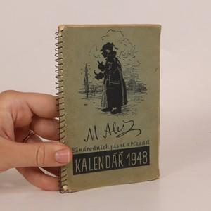 náhled knihy - Kalendář 1948. 52 národní písní a říkadel