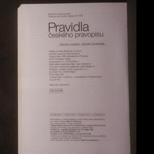 antikvární kniha Pravidla českého pravopisu, 2009
