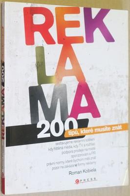 náhled knihy - Reklama : 200 tipů, které musíte znát