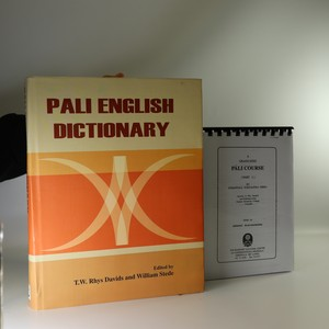 náhled knihy - Pali English Dictionary (+ fotokopie Graduate Pali Course)