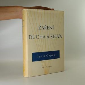 náhled knihy - Záření ducha a slova