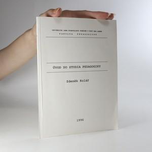 náhled knihy - Úvod do studia pedagogiky