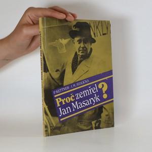 náhled knihy - Proč zemřel Jan Masaryk