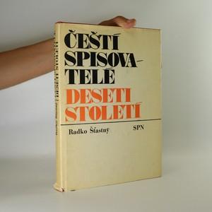 náhled knihy - Čeští spisovatelé deseti století